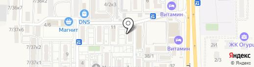 Детский-Стиль на карте Краснодара
