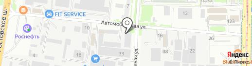 Деталь-АвтоСервис на карте Краснодара