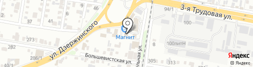 Здоровье на карте Краснодара