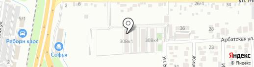 АльфаСтройИнвест на карте Краснодара