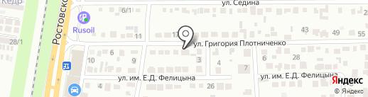 Коллегия юристов на карте Краснодара