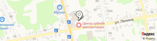 Центр Зубной Имплантации на карте Новотитаровской