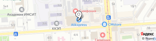 Dart на карте Краснодара