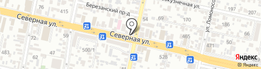 ПТС-Краснодар на карте Краснодара
