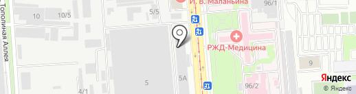 НавесИнвестСтрой на карте Краснодара