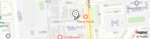 ВилГуд на карте Краснодара