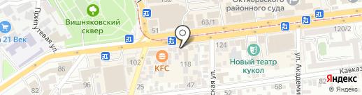 Лора Плюс на карте Краснодара