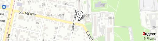 ОРТОПРОМ на карте Краснодара