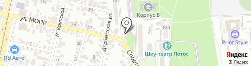 Домострой-ЮГ на карте Краснодара