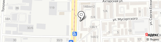 Авто Партнер на карте Краснодара
