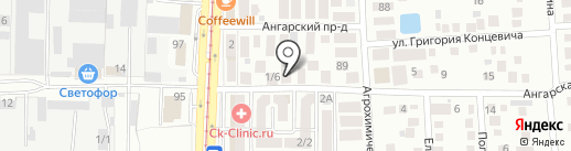 Уютное Жилище на карте Краснодара