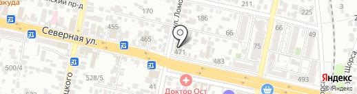 КАНАВТО К на карте Краснодара