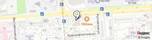 ЛИАН на карте Краснодара