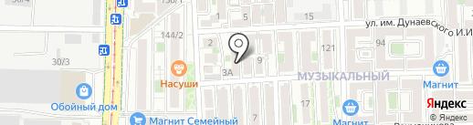 Успех на карте Краснодара