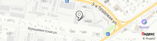 ТентАвто на карте Краснодара