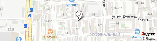 Scorpion на карте Краснодара