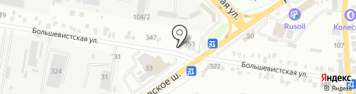 Car-repair 2015 на карте Краснодара