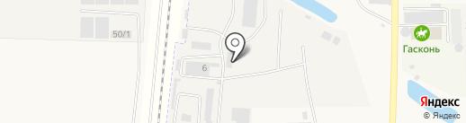 ФЕРРАТЕК на карте Южного