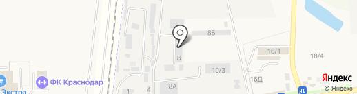 Яна на карте Южного