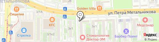 Алкотека на карте Краснодара