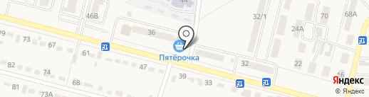 Пятёрочка на карте Семилуков