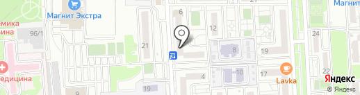 Гранпак на карте Краснодара
