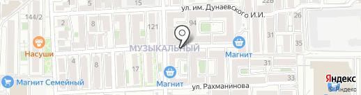 ЦЕНТР БИЗНЕС УСЛУГ на карте Краснодара