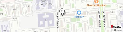 ТоТ ТоП на карте Краснодара