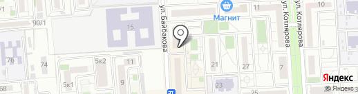 Идеа на карте Краснодара