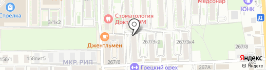 Ириска на карте Краснодара