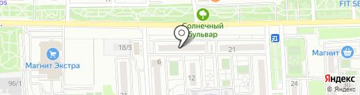 Hair studio на карте Краснодара