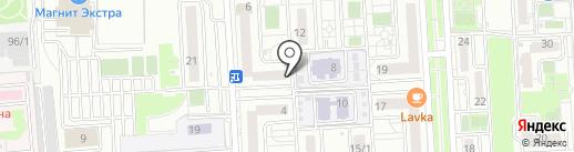 ПУФФ на карте Краснодара