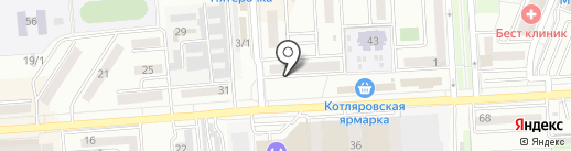 У Димы на карте Краснодара