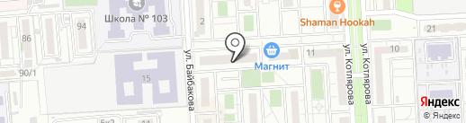 Florange на карте Краснодара