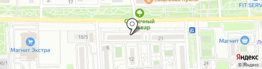 Суши Мастер на карте Краснодара