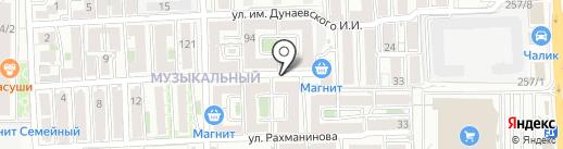 Соло на карте Краснодара