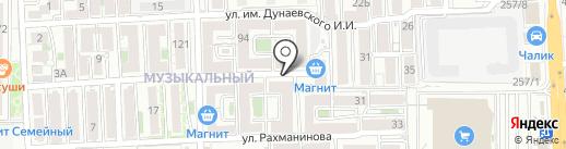 Blackberry на карте Краснодара