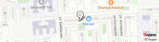 Магазин жидких обоев на карте Краснодара
