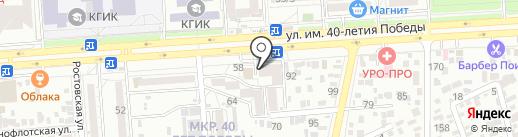 ГладкоЕЖка на карте Краснодара