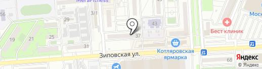 Мобилинк на карте Краснодара