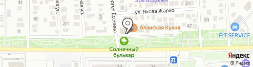Недвижимость Юга на карте Краснодара
