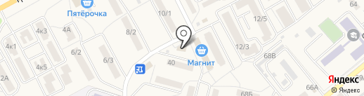 Автожизнь на карте Семилуков
