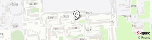 Диснейка на карте Краснодара