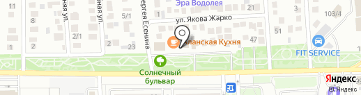 Златый Терем на карте Краснодара