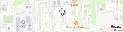 SUGAR ME на карте Краснодара