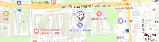 Индустрия окон на карте Краснодара
