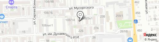 Натали на карте Краснодара