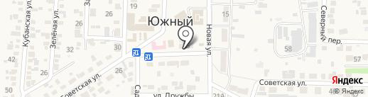 Парикмахерская на Советской (Южный) на карте Южного