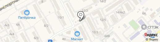 Домовит на карте Семилуков