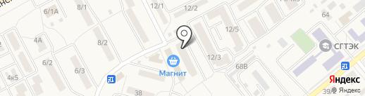 Май на карте Семилуков